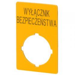 Tabliczka M22-XZK1-PL99